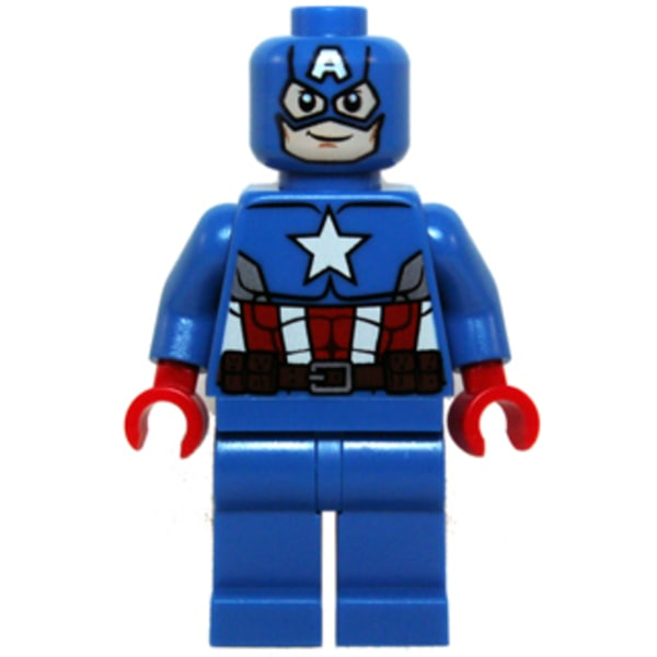 LEGO Superheroes Avengers Marvel - Captain America Blue Suit