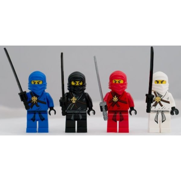 LEGO Ninjago - Zane Cole Kai Jay Klassiska