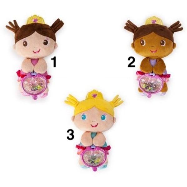 Dinotoys Gosedjur Docka Mjukisdjur Plush Brights Starts Princess 3. Turkos Blond
