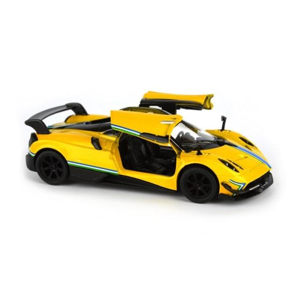 Robetoy Cars Bilar 61556 Pagahi Huayra 13cm Pullback Blå