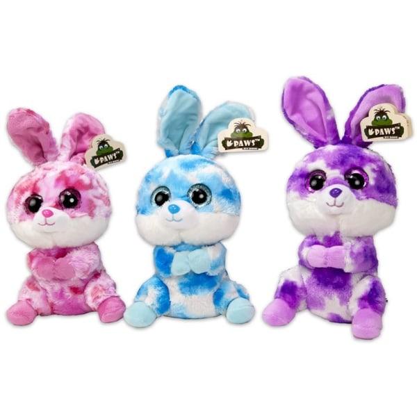 Dinotoys Gosedjur Kramdjur Mjukisdjur Baby Rabbit Kanin Plush Pl 2.Ljusblå