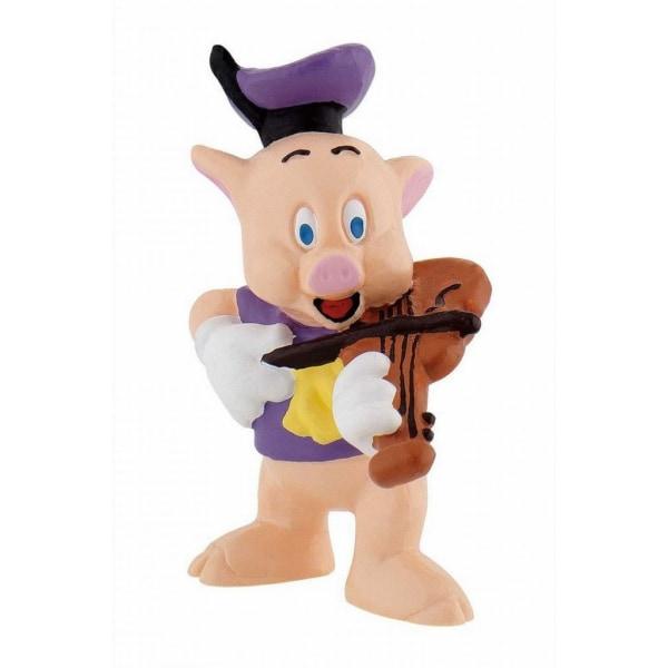 Bullyland Figur Disney De tre små grisarna - Lila Fiedler Fiol
