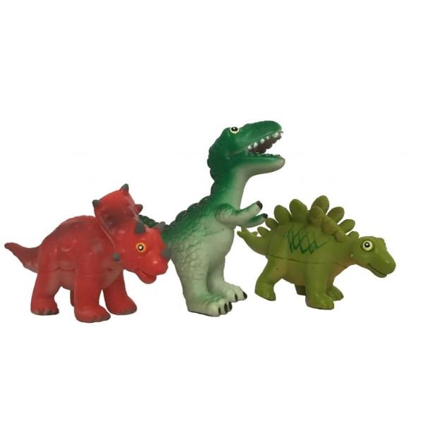 Robetoy Leksaker Djur Dino Mjuka 3st Dinosaurier Paket 3 rest 2