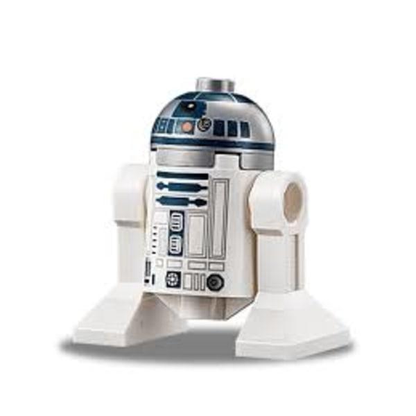 Lego Figurer Disney Star Wars R2D2 - R2-D2 Metallic topp LF51-72