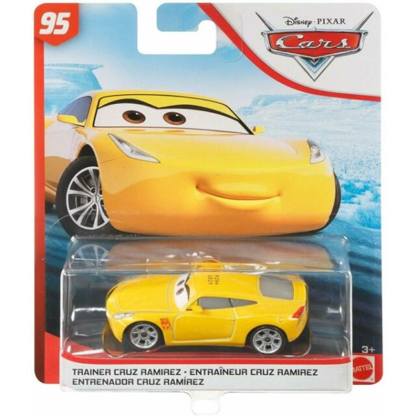 Disney Cars 3 Bilar Pixar Mattel Metall Maki - Trainer Cruz Rami