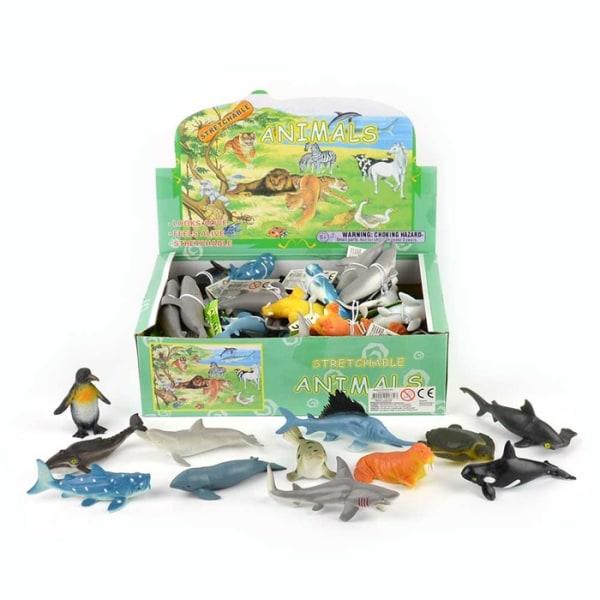 Robetoy Leksaker 41331 Djur Sea Animals Havsdjur 12-Pack