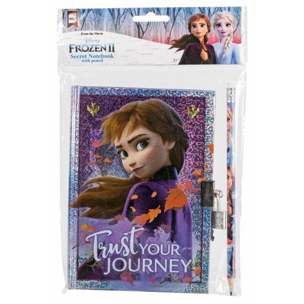 Disney Frost Frozen Dagbok Anna med lås & penna - 40st sidor
