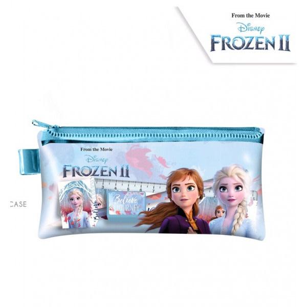 ZTR Disney Frost Frozen Elsa Anna Pennfodral med skrivdelar