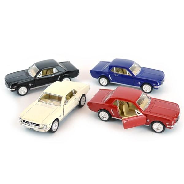 Robetoy Bilar Cars 61162 13cm metall 1:36 Ford Mustang 1964 Blå