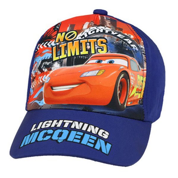 ZTR Keps Cap Hat Disney Pixar Cars Mcqueen No Limit Välj 3. Light blue