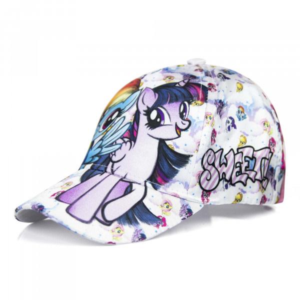 ZTR Keps Cap Kepsar Hat Baseball MLP My Little Pony Häst Vit