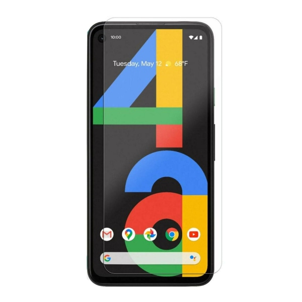 2-PACK Härdat glas Google Pixel 4A Transparent