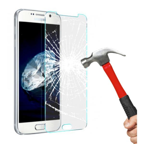 2 pack härdat glas till Samsung A3 2016 Transparent