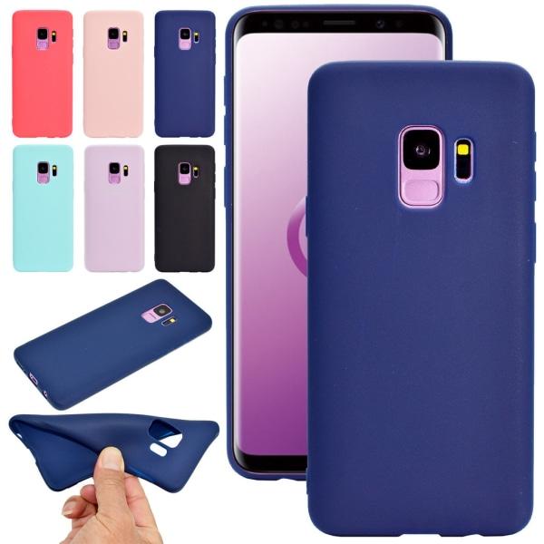 Samsung A8 (2018) Ultratunn Silikonskal - fler färger Rosa
