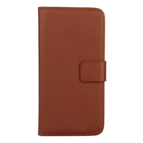 Plånboksfodral Äkta Skinn Huawei Mate 20 Lite - fler färger Brun