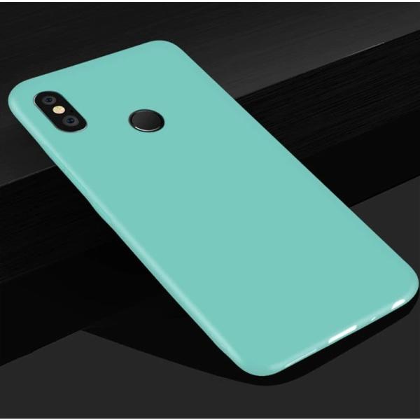 Xiaomi Mi A2 Lite Ultratunn Silikonskal - fler färger Turkos