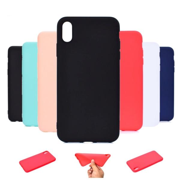 iPhone XR Ultratunn Silikonskal - fler färger Turkos