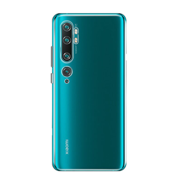 Transparent Silikon TPU-Skal till Xiaomi Mi Note 10/10 Pro Transparent