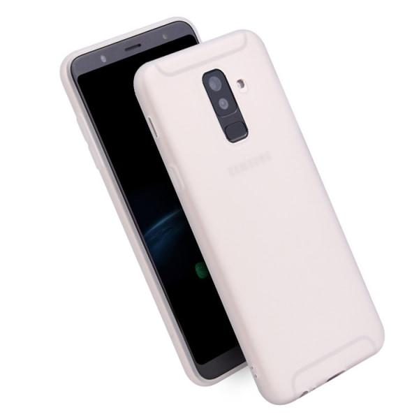 Samsung A6 2018 Ultratunn Silikonskal - fler färger Röd