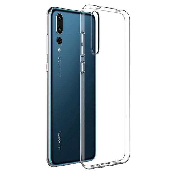 Transparent Silikon TPU-Skal till Huawei P30 Transparent