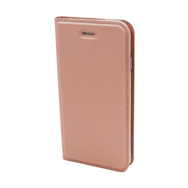 Plånboksfodral Ultratunn design iPhone XR - fler färger Rosa