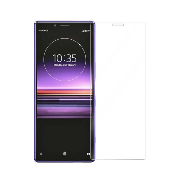 Härdat glas Sony Xperia 1 Transparent