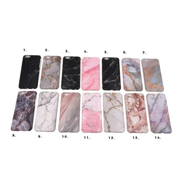Marmorskal iPhone 8 - flera färger MultiColor Motiv 5