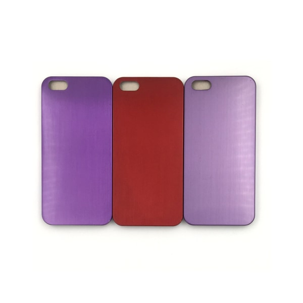 Metallic Skal iPhone 5/5S/SE(1a generationen) - fler färger Röd