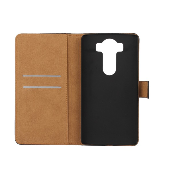 Plånboksfodral Äkta Skinn LG G4 - fler färger Cerise