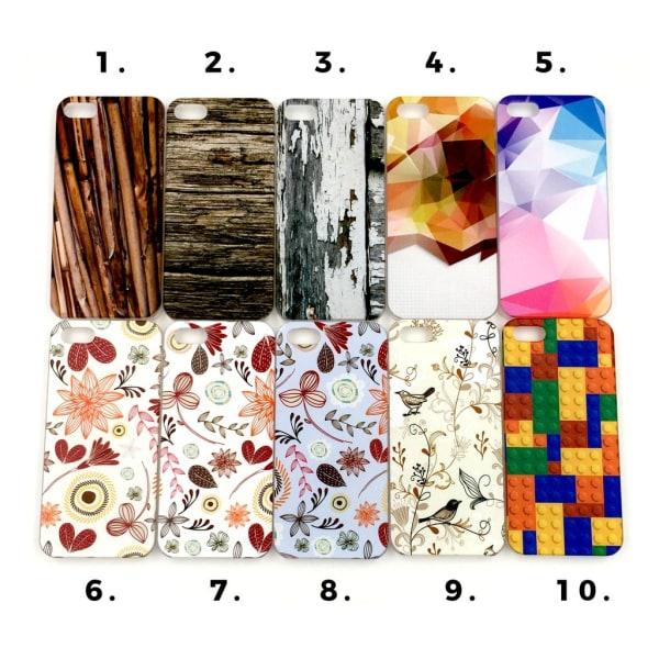 Skal med motiv iPhone 5/5S/SE MultiColor Motiv 10