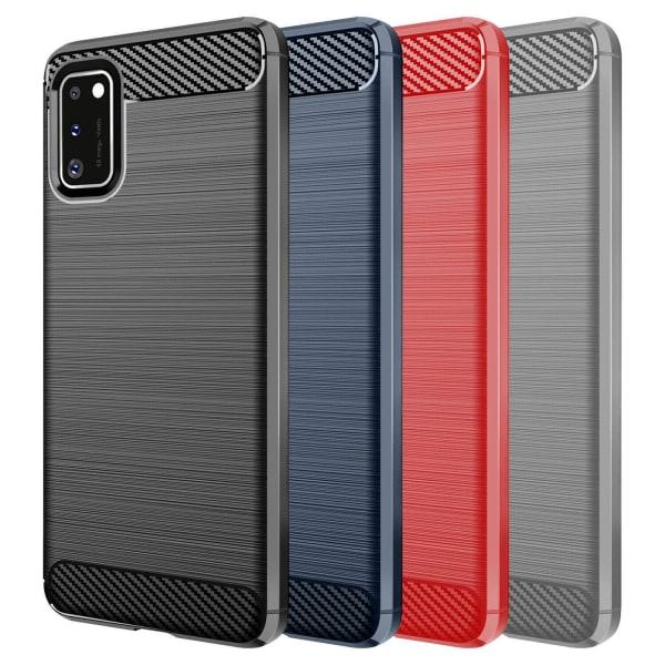 Stöttåligt Armor Carbon TPU-skal Samsung A41 - fler färger Svart