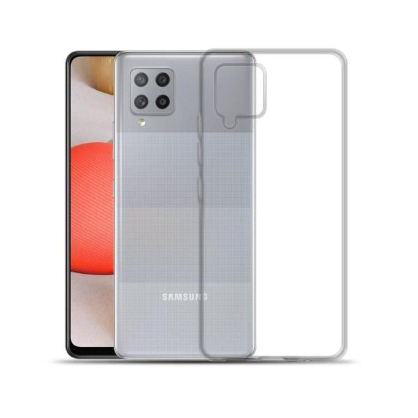 Transparent Silikon TPU-Skal till Samsung Galaxy A12 Transparent