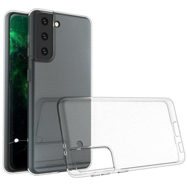 Transparent Silikon TPU-Skal till Samsung S21 Plus Transparent