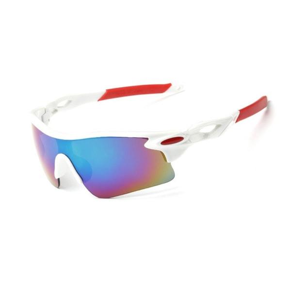 Sport Cykelglasögon - Solglasögon för Cykling (Vit) vit