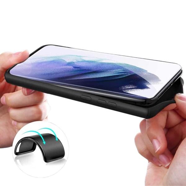 Tunt Svart Galaxy S21 Plus Skal Mobilskal 1mm TPU svart
