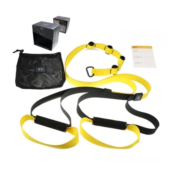 Träningsband Multi-Trainer Suspension Gymband Träningsrep gul