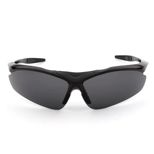 Svarta Cykelglasögon - Solglasögon för Sport Cykling svart