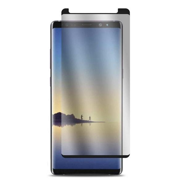 Galaxy Note 8 3D Curve HD Skärmskydd Kolfiber Härdat Glas svart