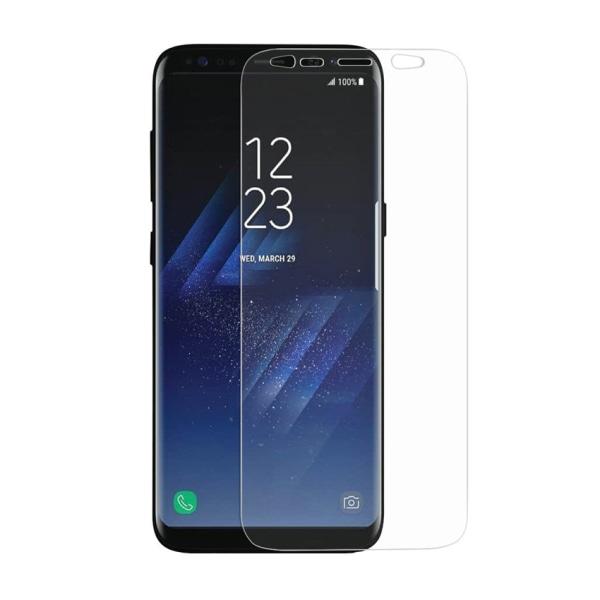 Samsung Galaxy S9 Plus Skärmskydd Skyddsplast Heltäckande transparent