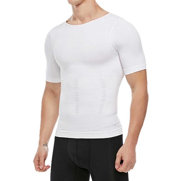Hållningströja för Bättre Hållning Posture T-shirt M Vit vit