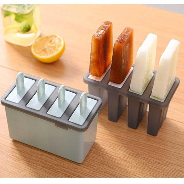 4-pack Glassform - Gör Egna Glasspinnar Hemma - Nyttig Glass beige