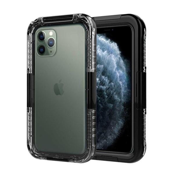 iPhone 11 Vattentätt Fodral Skal Undervattenshus svart