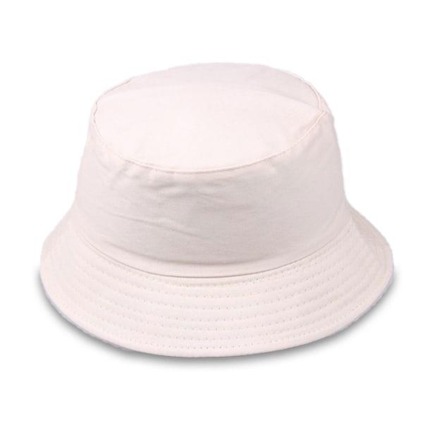 Beige Fiskehatt Bucket Hat Mössa Hatt beige one size