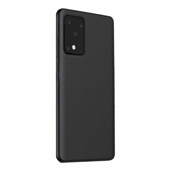 Tunt Svart Galaxy S20 Ultra Skal Mobilskal 1mm TPU svart