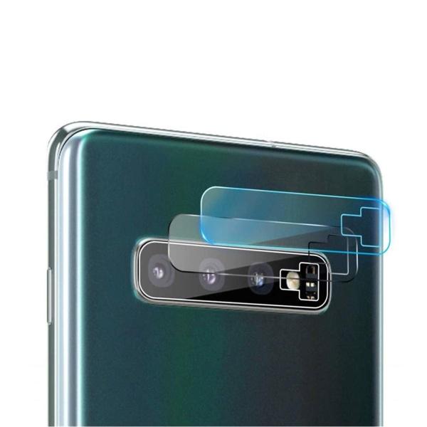 2-pack Galaxy S10 Plus Skydd för Kamera Linsskydd Kameralins transparent