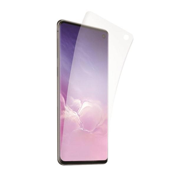 Samsung Galaxy S10 Skärmskydd Skyddsplast Displayskydd transparent