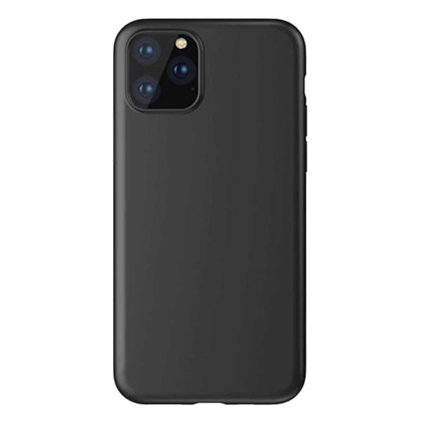 Tunt Svart iPhone 11 Pro Skal Mobilskal 1mm TPU svart