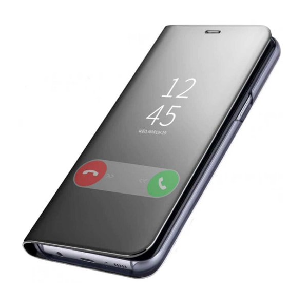 Huawei P20 Fodral Clear View med Touch-funktion svart