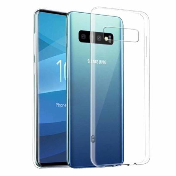 Tunt Genomskinligt Mobilskal Galaxy S10 Transparent transparent
