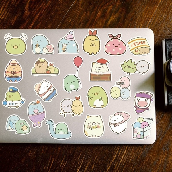 Klistermärken / stickers dator 50 pack